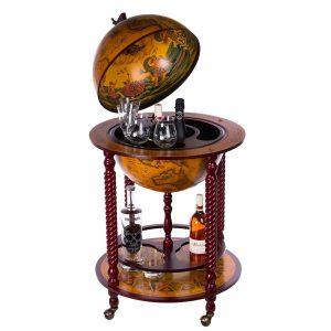Barwagen Globusbar antike Weltkugel