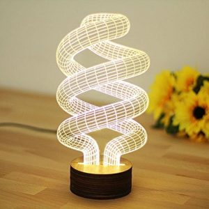 GARY&GHOST 3D LED Lampe