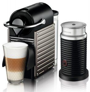 Krups Nespresso Pixie mit Aeroccino