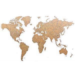 Hochwertig Holz Weltkarte Wandbild geschenk freund