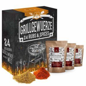 BBQ Grillgewürz-Adventskalender