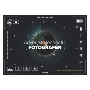 FRANZIS Adventskalender für Fotografen