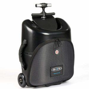 Geschenk für Väter Micro Lazy Luggage Schwarz