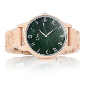 Cari Holzuhr Dublin mit Schweizer Uhrwerk männergeschenk