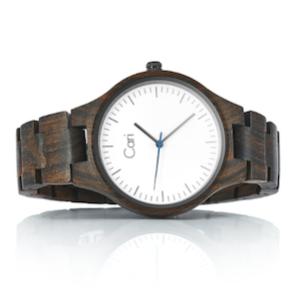Cari mit Schweizer Uhrwerk Holzuhr Armbanduhr männergeschenk