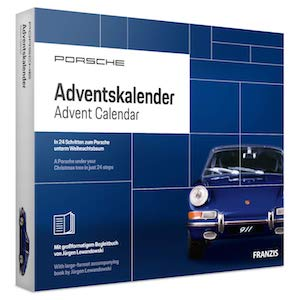 FRANZIS Porsche Adventskalender Mann
