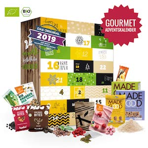 Gourmet Adventskalender für Männer 2019
