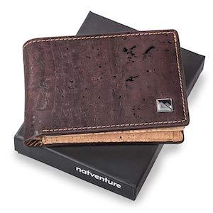 natventure® Geldbörse aus Kork Ökologisch Vegane geschenke